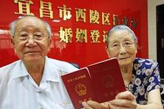Couple in their 90's re-register for marriage