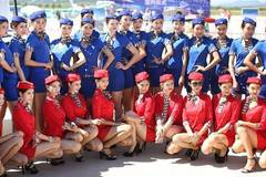 Models attend 5th Shenyang Faku Int'l Flight Conference