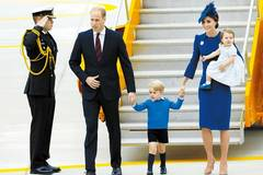 UK royal family lands in Canada