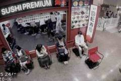 Hate standing in line? Japan now has self-driving chairs