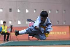 3-year-old Kung Fu kid rises again after tumble to finish contest