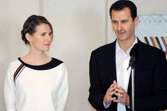 Syria's first lady says rejected offers to leave country: report