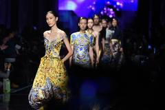 Fashion show held during Nanjing Historical and Cultural Cities Expo