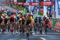German rider Walsheid wins fourth stage of Tour of Hainan 2016