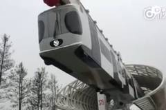 First suspension railway put into operation