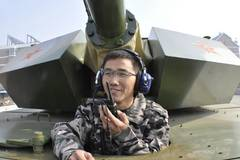 Chinese men build homemade tank