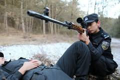 Post-90s female SWAT instructor in Hohhot