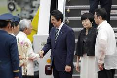 Japan PM starts 4-nation trip with visit to Philippines