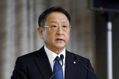 Toyota president met VP-elect Pence in Washington, company says
