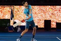 Novak Djokovic plays charity match to raise funds for Novak Djokovic Foundation