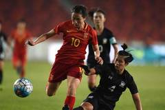 China beats Thailand 2-0 in CFA Women's Football Tournament