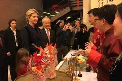 Ivanka Trump visits Chinese Embassy in Washington DC