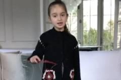 Clip of Trump granddaughter singing goes vira