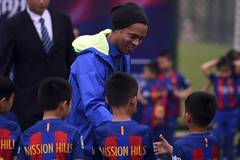 FC Barcelona, Mission Hills Group hold coaching clinic in Haikou
