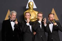 Inside press room of 89th Academy Awards