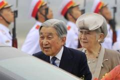 Japan's Emperor Akihito on first-ever visit to Vietnam