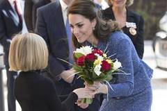 Britain's Duchess of Cambridge visits Ronald McDonald House