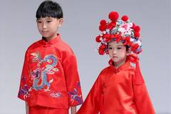 In pics: Wangxiaohe children's collection show in Beijing