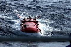 Chinese submersible retrieves seamount sample in South China Sea