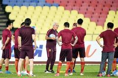 Lippi's days before World Cup qualification match between China, Syria