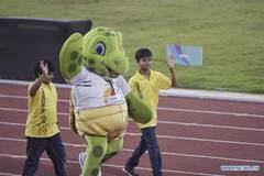 Opening ceremony of 22nd Asian Athletic Championship held in E India