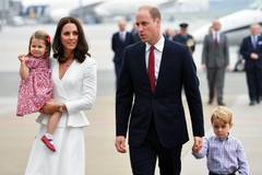 Photos of the British royal family's visit to Germany and Poland
