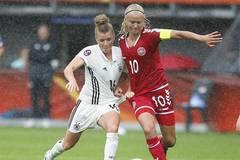 Denmark beats Germany 2-1 at UEFA Women's EURO 2017 soccer tournament