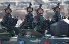 China holds military parade to mark PLA 90th birthday