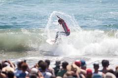 Highlights of 2017 U.S. Open of Surfing Finals in California