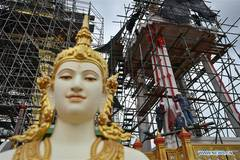 Crematorium for Thailand's late king to be completed in Sept.
