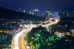 1,400 night view projects lightened up in Xiamen to greet BRICS Summit