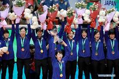 Japan claims Asian Women's Volleyball Championship title
