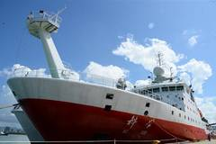 China's research vessel finishes month-long deep sea exploration