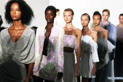 Creations of LANYU presented at New York Fashion Week
