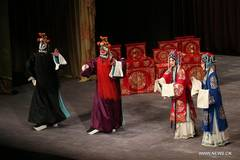 Peking Opera Female Generals of the Yang Family staged in Greece