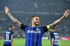 Inter Milan beats AC Milan 3-2 during Italian Serie A soccer match