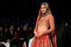 In pics: last day of Pakistan Bridal Fashion Week