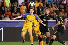 Apoel ties Bortussia Dortmund 1-1 in Champions League match