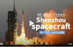 All about Shenzhou spacecraft in 100 seconds