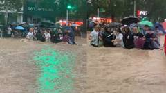 Heavy rain affects over 144,660 people in central China's Henan