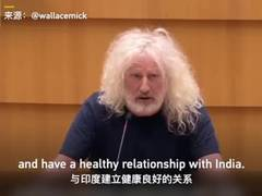 European MP Mick Wallace cites China's achievements:Don't be led by U.S.!