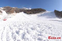 A glimpse at National Alpine Skiing Center for Beijing 2022 Winter Olympic Games