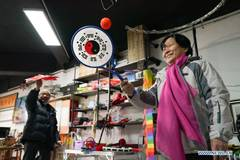 Pic story: toy shop for the elderly in Beijing