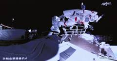 Chinese astronauts out of spacecraft for extravehicular activities