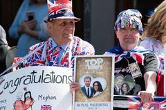 Royal wedding rehearsal gets underway in Windsor