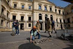 Brazil museum fire endangers 20 million historical pieces