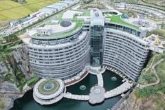 Breathtaking underground hotel opens in Shanghai