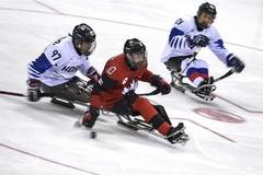Canada beats South Korea 7-0 at ice hockey semifinal at 2018 PyeongChang Winter Paralympic Games