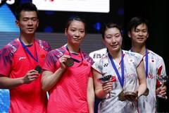 Japan wins mixed doubles final at All England Open