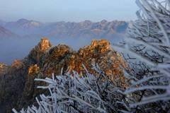Scenery of Jiankou Great Wall after snowfall in Beijing